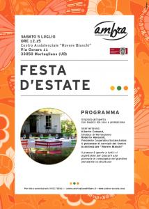 Locandina_5luglio_Festa d'estate